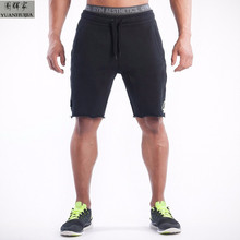New brand High quality men shorts bodybuilding fitness panties gymshark basketballRunning jogger shorts golds M001