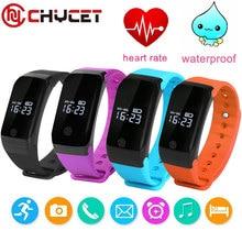 Водонепроницаемый X7 Bluetooth Спорт Смарт часы SmartWatch сердечного ритма Мониторы Smart Band Плавание браслет для Android IOS PK ID107