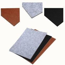 Mayitr Protector autoadhesivo almohadillas de fieltro mueble cuadrado suelo Protector de arañazos accesorios de muebles DIY 30cm * 21cm