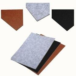 Mayitr autoadhesivo cuadrado almohadillas de fieltro muebles de piso Protector de arañazos accesorios de muebles DIY