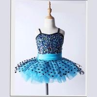 Sequin Top Ballet Tutu Dot Dresses For Women Or Children Ballet Dancewear Toddler Ballet Leotard Rehearsal