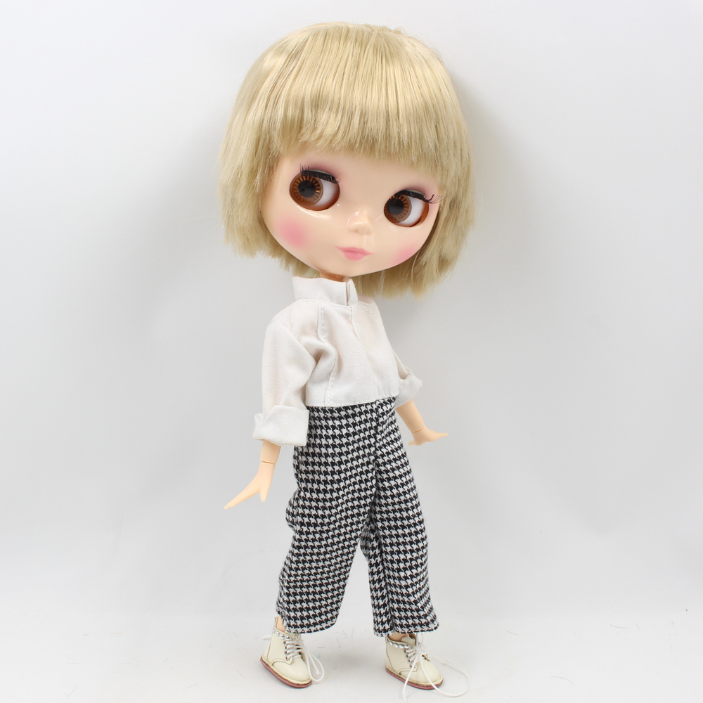Fortune Days Nude Blyth doll Male doll Series No BL3227 Blonde hair Male Joint body Suitable