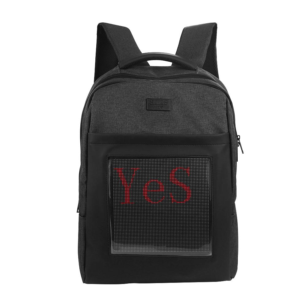 Светодио дный светодиодный экран динамический рюкзак «сделай сам» BackBag Мода удобный мобильный телефон APK холст материал на заказ Flash (Gif)