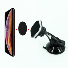 Universal Magnetic Car Holder Windshield Phone 360 Rotatable Stand Mount Support GPS Display Bracket