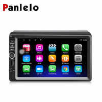 Panlelo 2 Din Car Navigation Radio Stereo 7 Inch Touch Screen Android System Quad Core Support RDS WiFi Bluetooth AM/FM
