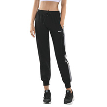 лучшая цена New yoga trousers, women's sports trousers, loose fitness running trousers, tight waist harem trousers