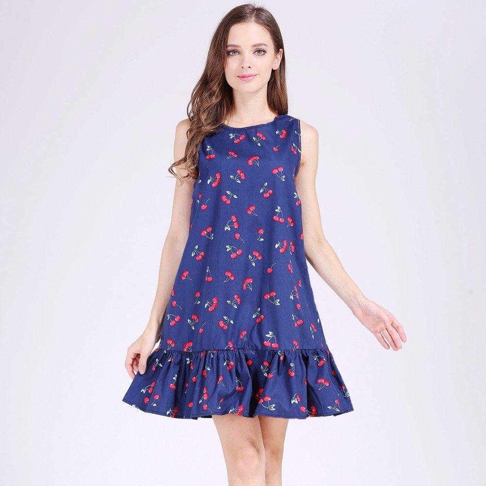 Ruffles A Line Summer Dress - Fashion Trendy Shop