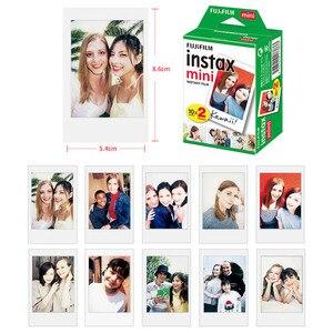 Image 4 - 50 feuilles Fujifilm Instax Mini Film blanc bord papier Photo pour Instax Mini LiPlay 11 9 8 70 90 LINK caméra à Film instantané