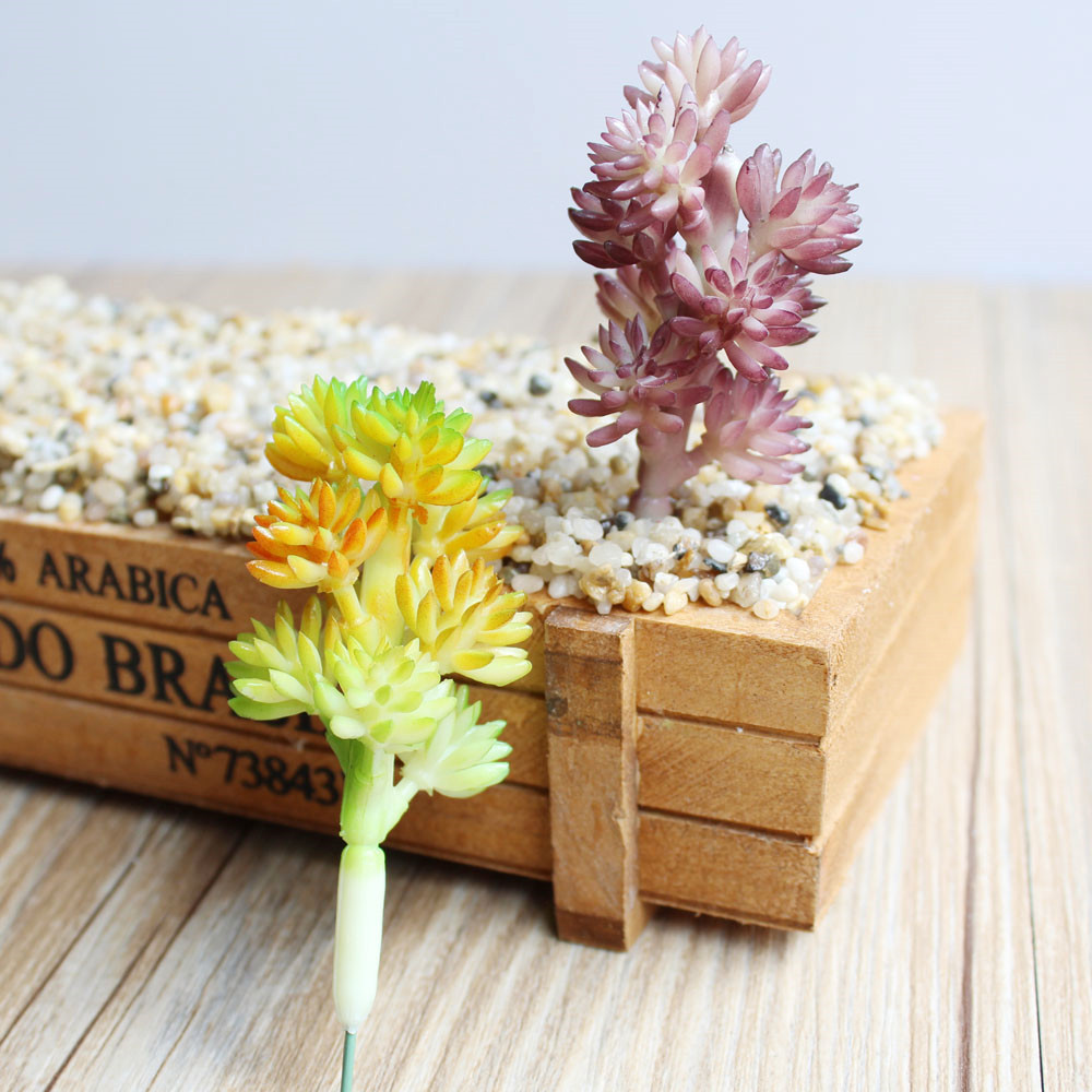 1pc artificial plant plastic fake edelweiss succulent flower 1pc artificial plant plastic fake edelweiss succulent flower floristry arrangement home decoration 2 colours in artificial dried flowers from home mightylinksfo