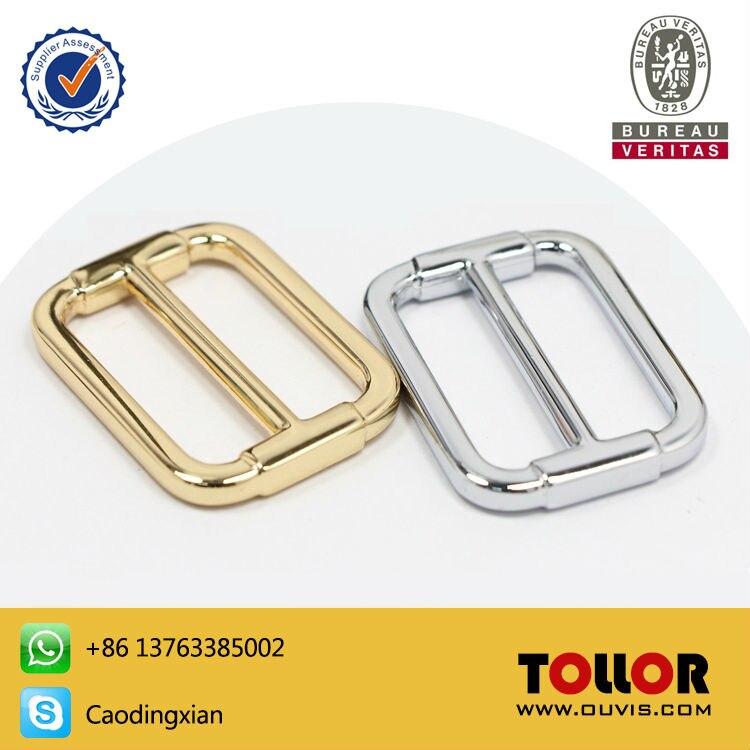 High Quality Metal Adjustable Buckle Luggage Alloy Button Ladder LockTri Glide Button Bag Parts Handbag Accessories DIY Hardware