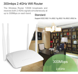 Image 5 - 300mbps QCA9531 High Power Wireless Router AP WIFI Strong Signal Support Firewall VPN QoS DHCP With USB Port 4*3dbi antenna