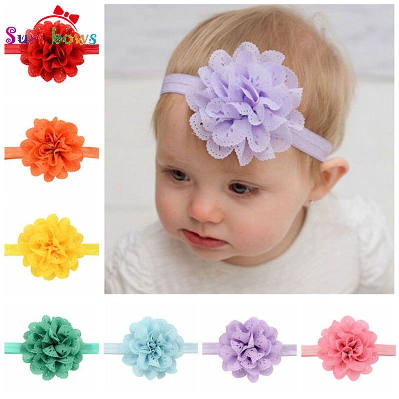 Clothing, Shoes & Accessories Girls Newborn Baby Toddler Bow Headband Hair Band Accessories Headwear 5pcs