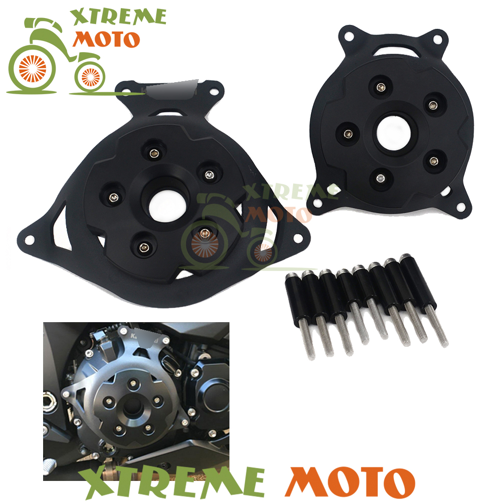 CNC Motorbike Accessories Motorcycle Engine Stator Cover Protective Protector Side For Kawasaki Z800 Z 800 2013 2014 2015 2016 new products motorcycle engine protective protect cover stator engine covers for kawasaki zx10r 2011 2012 2013 2014 2015 2016