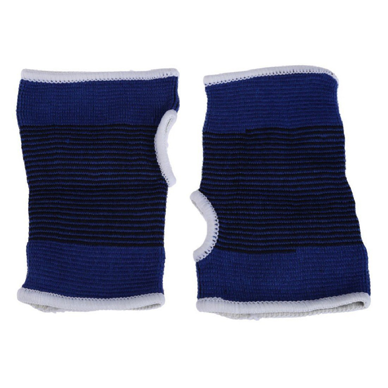 1Pair Wrist Hand Brace Gym Sports Support Wrist Gloves Hand Palm Gear Protector Carpal Tunnel Tendonitis Pain Relief 5