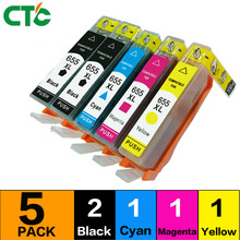 5 Compatible for 655Inkjet Cartridge for  655xl ink cartridge for Deskjet  3525/4615/4625/5525/6520c printer