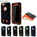 Coque para iphone 6 case neumático de doble capa para apple iphone 6 s heavy duty armor case tpu plástico duro y silicona para iphone6s cubierta