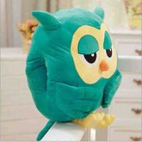 45*35cm dramas Heirs long leg owl plush soft hand warmer doll pillow girl children birthday gift stuffed toy