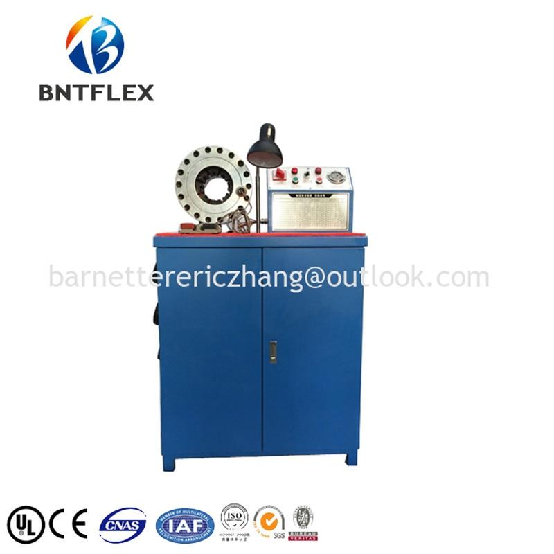 BNTFLEX marca Menor preço da corda de fio de aço máquina de friso