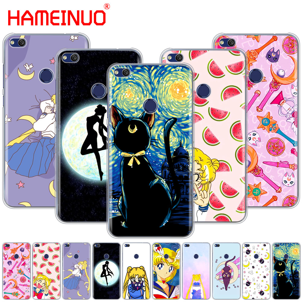 Cellphones & Telecommunications Frugal Hameinuo Sailor Moon Sailor Mercury Cute Cover Phone Case For Huawei Ascend P7 P8 P9 P10 P20 Lite Plus Pro G9 G8 G7 2017 Phone Bags & Cases