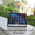 """Durable resistente a prueba de golpes tablet case de silicona protege la cubierta para lenovo yoga tablet 2 1050f 1050 1050l 10.1"""""""