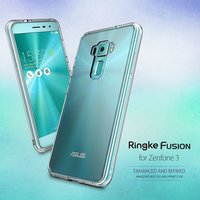 Original Ringke ZenFone 3 (ZE552KL) Case Ringke Fusion Series Clear Back Panel Drop Resistance Phone Cases for Asus ZenFone 3