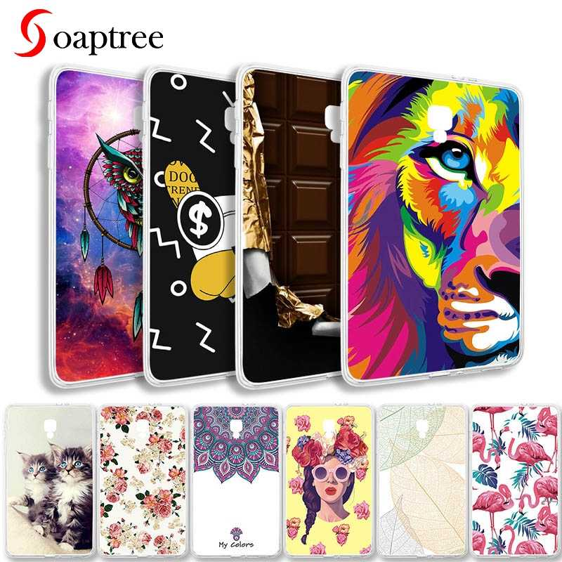 Silicon Phone Cases For Samsung Galaxy Tab 3 8.0 Case Cover Tab4 10.1 7.0 Shell Bumper Tab A 10.1 4 A6 7.0 8.0 Tablet Bags Skin