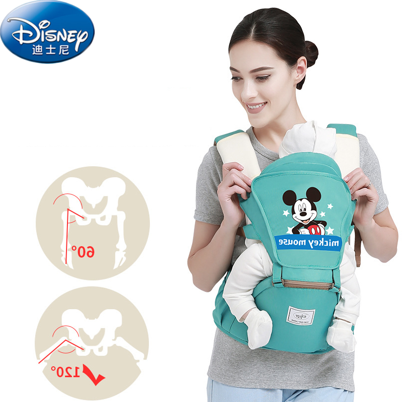 Disney 0-36 Months Breathable Front Baby Carrier 2018 Fashion Multi-function Baby Comfortable Strap Backpack Bag Baby Carrier multi function portable comfortable cotton baby carrier sling bag deep blue white