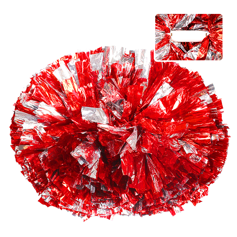 Cheerleaders floare de mână Aerobics Show Dance Hand Flowers Flori Cheerleading Pom Poms Cheerleader Pompoms pentru baschet de fotbal 120g