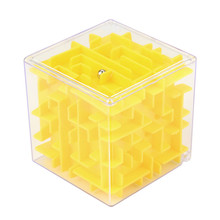 2017 3D Cube Puzzle Maze Toy Hand Game Case Box Fun Brain Game Challenge Fidget Toys