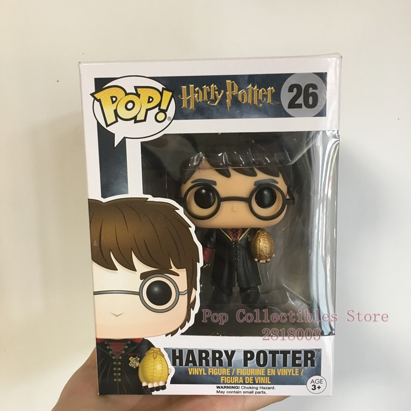 Exclusive Funko pop Official Harry Potter - Harry Triwizard with Egg Vinyl Action Figure Collectible Model Toy with Original Box  funko pop official marvel doctor who dalek vinyl action figure collectible model toy with original box