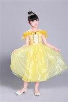 Multicolor Brand New Custom Cosplay Party Princess Baby Gilr Dress Cinderella Wedding Kids Christmas Halloween Cloth