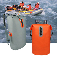 Lightweight Outdoor Sports Drift Backpack 16L Military Waterproof Floating Dry Bag Drift Canoe Kayak Swimming Fishing Travel