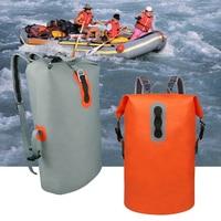 Lightweight Outdoor Sports Drift Backpack 16L Military Waterproof Floating Dry Bag Drift Canoe Kayak Swimming Fishing Travel