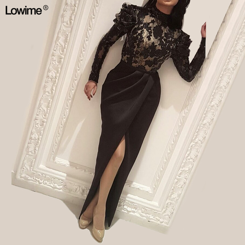 Formal Women Evening Dresses 2018 New Arrival Lace Evening Gowns