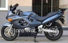 Лидер продаж, 03 04 05 06 GSXF750 03-06 полный набор для Suzuki GSXF 750 2003-2006 2003 2004 2005 2006 Серый мотоциклов Обтекатели