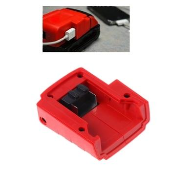 2018 Power USB Lader Adapter Voor Milwaukee 49-24-2371 M18/M12 Verwarmde Jassen 15-21 V JUL31_33