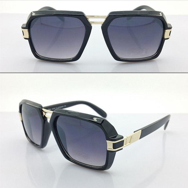 New Fashion CA Brand Designer Luxury Square Sunglasses Men Clear Grey Lens Black Women Sunglasses Leopard Oversize CZ4030 Logo