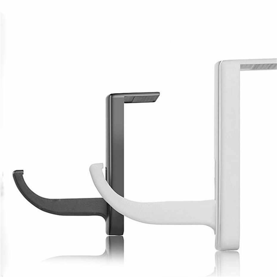 Preto Fones de ouvido Suporte Universal Headphone Headset Titular Cabide de Parede Gancho Titular Rack de Suporte de Monitor de PC Fone de Ouvido 10.13