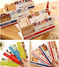 1 PC Creative Memo Style British London Post It Notes Stick Mini Memo Pad Sticky Note Paper Sticker Pads Scrapbooking Stationery 1 pc fruit scrapbooking note memo pads portable scratch paper notepads post sticky diy apple pear shape convenience stickers