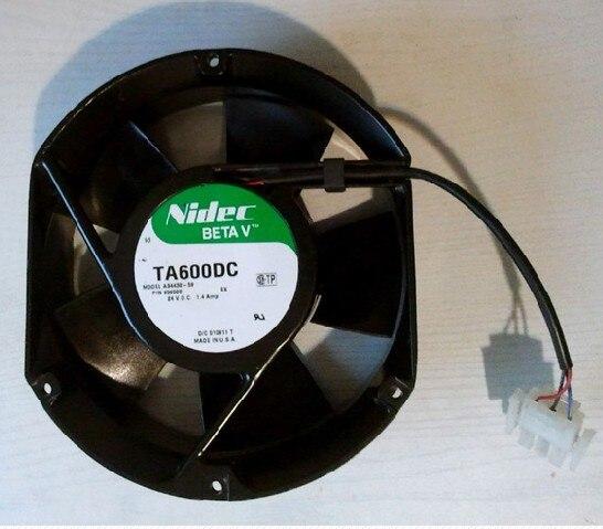 Nouveau Nidec A34438-59 EX 1.4mp 127*151*51 MM double boule UPS ventilateur de puissance pour DC24V TA600DC