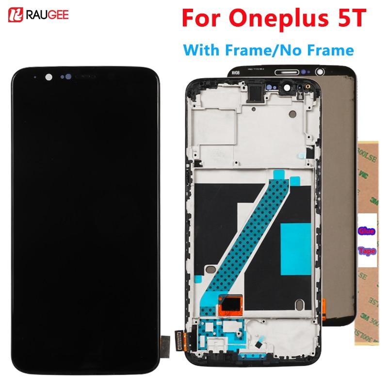 Экран дисплея для Oneplus 5 т T ЖК-дисплей сенсорный экран новый дигитайзер сборка замена аксессуар для Oneplus т 5 T one plus 5 т