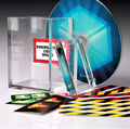 The Clarity Box by David Regal close-up street stage cards magic tricks products toys free shipping 81319