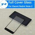 Para xiaomi redmi note 2 vidrio templado de alta calidad anti-golpe protector de pantalla de cristal de cine para xiaomi hongmi note 2 primer