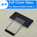 Para xiaomi redmi note 2 vidro temperado de alta qualidade anti-knock completa tela de vidro protector film para xiaomi hongmi note 2 Prime