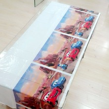 Cars Party Supplies Disposable Tablecloth Kids Birthday Decoration Baby Shower For Boys 108x180cm 1