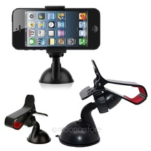 New Universal Car Stick Windshield Mount Adjustable Stand Holder For Mobile Phone GPS Clip