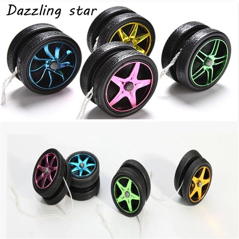 YoYo Ball Luminous Toy New Plastic Wheels Yo Yo Child Clutch Mechanism Yo-Yo Toys For Kids Party/Entertainment Bulk Sale AS569