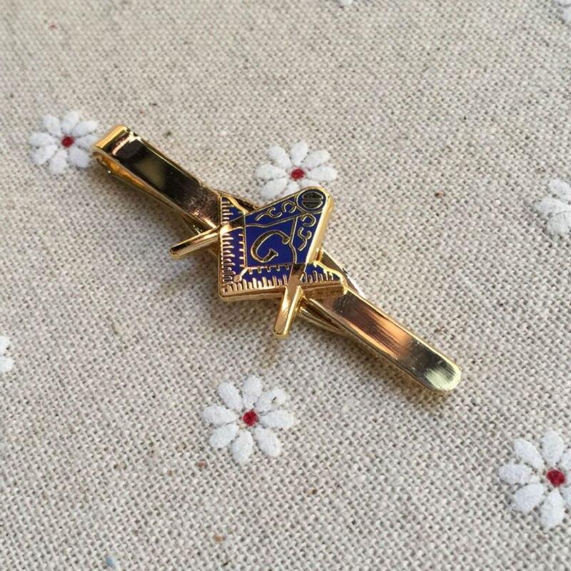 2017 масонские Зажимы для галстука масонство галстук бар с площади и компас Mason кнопки для мужчин одежда высокого качества