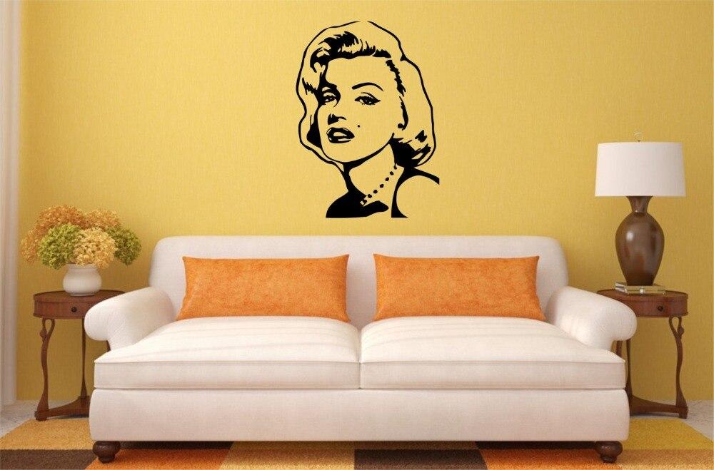 Fantastic Marilyn Monroe Wall Decor Stickers Frieze - Wall Art ...
