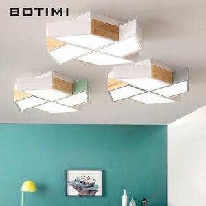 Image 2 - BOTIMI 220V LED Plafond Verlichting In Windmolen Vorm Voor Woonkamer Lamparas de techo Slaapkamer Jongens Room plafondlamp kamers Luminare